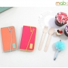 MOBC : Banding Book Leather Diary Genuine Leather Cover Case for iPhone5