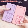 (391-028)เคสมือถือซัมซุง Case Samsung Galaxy J1 เคสนิ่มสมุดเปิดข้างลายแมวน่ารักๆ DOMI CAT
