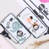 (025-593)เคสมือถือ Case OPPO A77 เคสนิ่มลายน่ารักๆ มีแหวนมือถือพร้อมสายคล้องคอถอดแยกได้