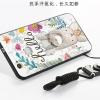 (025-897)เคสมือถือ Case Huawei nova เคสนิ่มซิลิโคนลายน่ารักพร้อมแหวนมือถือและสายคล้องคอถอดแยกได้