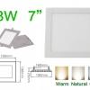 โคมไฟ LED Panel Downlight ดาวไลท์ 18W สี่เหลี่ยม