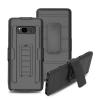 (002-201)เคสมือถือซัมซุง Case Samsung Galaxy Note8 เคสสไตล์แอดเวนเจอร์กันกระแทกแบบพกพาเหน็บเอว