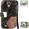 Case เคส ลายเย็บ Samsung GALAXY S4 IV (i9500)
