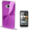 CD Texture Metal HTC One (M7) (Purple)