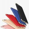 (025-596)เคสมือถือ Case OPPO R11 Plus เคสพลาสติกสีสดใสขอบแววสไตล์แฟชั่น