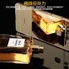(025-187)เคสมือถือ Case Huawei P9 Plus เคสกรอบโลหะประกบสองชิ้นแบบสไลด์พื้นหลังเคลือบเงา