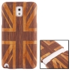 Woodcarving UK Flag Pattern Detachable Bamboo Material Case เคส Samsung Galaxy Note 3 (III) / N9000 ซัมซุง กาแล็คซี่ โน๊ต 3