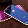 (151-192)ฟิล์มมือถือไอโฟน iPhone5/5s ฟิล์มกระจกนิรภัยชุบสี