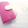 Berri : Leather Case Cover For Apple iPhone 5