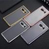(436-256)เคสมือถือซัมซุง Case Samsung Galaxy Note8 เคสนิ่มใสขอบแววแฟชั่นสวยๆ