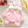 เสื้อกันหนาวกระต่ายน้อยสีชมพู น่ารัก