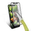 (436-257)ฟิล์มกระจก iPhone X กระจกนิรภัย 9H กันรอยขูดขีดกันน้ำกันรอยนิ้วมือขอบสี
