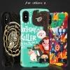 (016-028)เคสมือถือไอโฟน Case iPhone X เคสนิ่มเกราะพลาสติกกันกระแทกลายกราฟฟิคสวยๆ samload