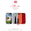 Anymode : Mirror Leather Folio Case Cover For Samsung Galaxy S4, S IV, i9500