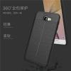 (025-809)เคสมือถือซัมซุง Case Samsung J5 Prime/On5(2016) เคสนิ่มซิลิโคนลายหนังสไตส์เรียบหรู