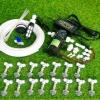 SAVE SET 3 ชุดพ่นหมอก 15 หัวพ่นหมอกเนต้าฟิล์ม 0.6 mm. + สายพ่นหมอก 25 เมตร ( ใช้ได้ทั้งแบตเตอรี่และไฟบ้าน 220 โวลต์ )