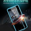 (003-010)เคสมือถือ Case Huawei Honor 4C/ALek 3G Plus (G Play Mini) เคสนิ่มขอบสี+ฝาหน้าเคสกระจกนิรภัยกันรอยกันกระแทก