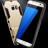 (439-017)เคสมือถือซัมซุง Case Samsung Galaxy S7 เคสขอบนิ่มพื้นหลังเกราะ IRONMAN