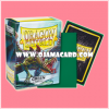 Dragon Shield Standard Size Card Sleeves - Green • Matte 100ct.