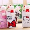 (151-395)เคสมือถือไอโฟน case iphone 5/5s/SE เคสนิ่ม Kitty 3D