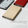 ZENUS : AVOC Curved Luna Diary Synthetic Leather Cover Case for Samsung Galaxy S5, SV, G900