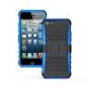 (427-004)เคสมือถือไอโฟน5c Case iPhone5C เคสนิ่มพื้นหลังพลาสติกแข็งขอบสีกันกระแทก