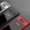 (436-284)เคสมือถือ Case Samsung S8+ เคสนิ่มขอบสีแฟชั่นสวยๆ