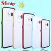 (423-011)เคสมือถือซัมซุง Case Samsung S6 edge เคสบัมเปอร์ทูโทนประกบสองชิ้น