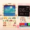 (152-1287)เคสมือถือซัมซุงโน๊ต Note3 Neo เคสสมุดเปิดข้างลายการ์ตูนน่ารักๆ