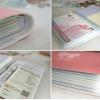 สมุดใส่บัตรรูปโบว์ (ซื้อ 6 ชิ้น ราคาส่ง 25 บาท/ชิ้น)