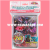 Yu-Gi-Oh! ZEXAL OCG Duelist Card Protector / Sleeve - Number C101: Silent Honor DARK / Chaos Numbers 101: Silent Honors Dark Knight 70ct.