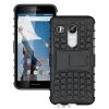 (002-176)เคสมือถือ Case LG Nexus 5X เคสนิ่ม+พื้นหลังประกบพลาสติกพร้อมขาตั้ง