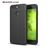 (025-819)เคสมือถือ Huawei P10 เคสนิ่มซิลิโคนลายหนังสไตส์เรียบหรู
