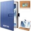 Case เคส Vertical Stripes Samsung Galaxy Note 8.0 (N5100)(Blue)