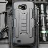 (002-212)เคสมือถือ Case LG X Venture/LV9 เคสนิ่ม+พื้นหลังประกบแบบพลาสติก+มีขาตั้ง+ที่เหน็บเอวสไตล์กันกระแทก