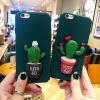 (483-008)เคสมือถือไอโฟน case iphone 6/6S เคสนิ่มแคคตัส 3D