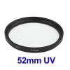 52mm SLR Camera UV Filter