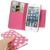 Case เคส Dot Pattern iPhone 5 (Pink)