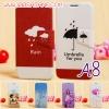 (399-001)เคสมือถือซัมซุง Case Samsung A8 เคสพลาสติกสไตล์ฝาพับ PU ลายการ์ตูนน่ารักๆ