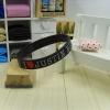 สายรัดข้อ Wristband ริสแบนด์ I Love Justin bieber สีดำ