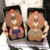 (025-579)เคสมือถือวีโว Vivo X6 Plus เคสนิ่มลายหมี พร้อมสายคล้องคอแบบถอดแยกได้