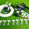 SAVE SET 2 ชุดพ่นหมอก 10 หัวพ่นหมอกเนต้าฟิล์ม 0.6 mm. + สายพ่นหมอก 20 เมตร ( ใช้ได้ทั้งแบตเตอรี่และไฟบ้าน 220 โวลต์ )