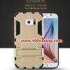 (394-007)เคสมือถือซัมซุง Case Samsung S6 edge เคสนิ่มกันกระแทกสองชิ้นประกบสไตล์ Iron Man