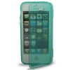 Case เคส Pure Color Horizontal Flip TPU iPhone 5 (Turquoise)
