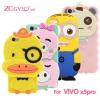 (412-020)เคสมือถือวีโว Vivo X5 Pro เคสนิ่มตัวการ์ตูน 3D น่ารักๆสไตล์เกาหลี