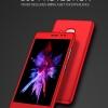 (491-020)เคสมือถือ Case Huawei G9 Plus เคสพลาสติกเมทัลลิคคลุมเครื่อง 360 แบบประกบสไตล์กันกระแทกหน้าจอกระจกนิรภัย