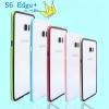 (423-015)เคสมือถือซัมซุง Case Samsung S6 edge plus เคสบัมเปอร์ทูโทนประกบสองชิ้น