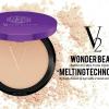 แป้งพัฟ V2 Revolution Wonder Beam Smooth Melting Powder SPF25 PA++
