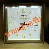 นาฬิกาควอทซ์แขวนผนัง silicon clock รหัส29556wc