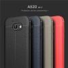 (025-805)เคสมือถือซัมซุง Case Samsung A5 2017 เคสนิ่มซิลิโคนลายหนังสไตส์เรียบหรู